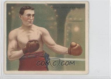 1910 ATC Champions - Tobacco T218 - Hassan Back #JAOB - Philadephia Jack O'Brien [GoodtoVG‑EX]