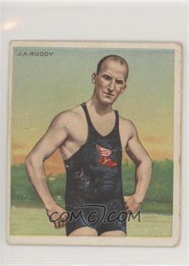 1910 ATC Champions - Tobacco T218 - Hassan Back #JARU - J.A. Ruddy [NoneGoodtoVG‑EX]