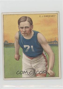 1910 ATC Champions - Tobacco T218 - Mecca Back #EJSW - E.J. Sweeney