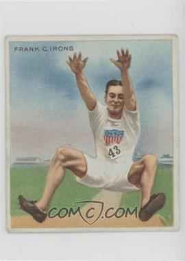 1910 ATC Champions - Tobacco T218 - Mecca Back #FRIR - Frank C. Irons [Good to VG‑EX]