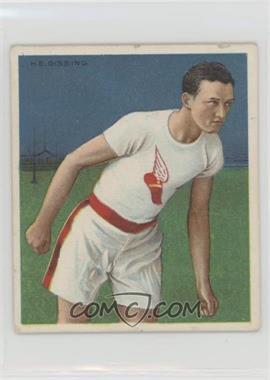 1910 ATC Champions - Tobacco T218 - Mecca Back #HAGI - Harry Gissing