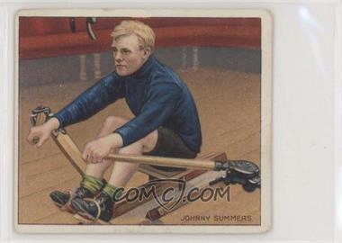 1910 ATC Champions - Tobacco T218 - Mecca Back #JOSU.1 - Johnny Summers (Rowing)