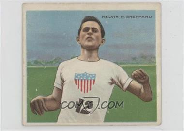 1910 ATC Champions - Tobacco T218 - Mecca Back #MESH.2 - Melvin Sheppard (#12 on Shirt; 2nd Series on Back) [GoodtoVG‑EX]