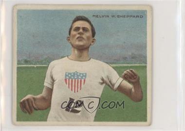1910 ATC Champions - Tobacco T218 - Mecca Back #MESH.2 - Melvin Sheppard (#12 on Shirt; Series #2 on Back) [NoneGoodtoVG‑EX]