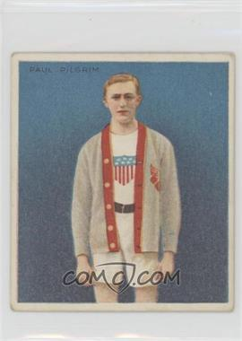 1910 ATC Champions - Tobacco T218 - Mecca Back #PAPI - Paul Pilgrim [Good to VG‑EX]