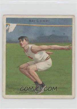 1910 ATC Champions - Tobacco T218 - Mecca Back #RAEW - Ray Ewry [GoodtoVG‑EX]