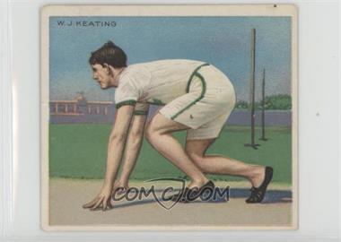 1910 ATC Champions - Tobacco T218 - Mecca Back #WJKE - W.J. Keating