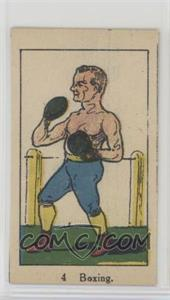 1920's W542 Strip Card - [Base] #4 - Boxing