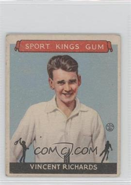 1933 Sport Kings Gum - [Base] #23 - Vincent Richards [Good to VG‑EX]