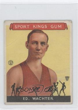 1933 Sport Kings Gum - [Base] #5 - Ed Wachter