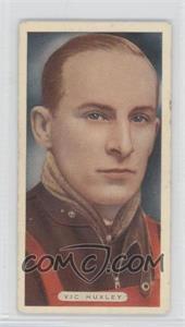 1935 Ardath Sports Champions - Tobacco [Base] - Ardath Cork Back #12 - Vic Huxley