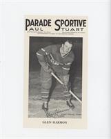 Glen Harmon (Posed on the ice)