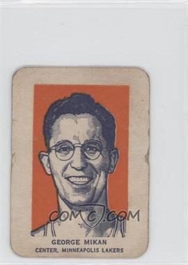 1952 Wheaties Champions - [Base] #GEMI.1 - George Mikan