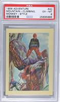 Mountain-Climbing, Monkey-Style [PSA 6]