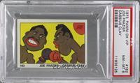Joe Frazier, Cassius Clay [PSA8]