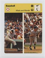 Roger Maris, Mickey Mantle [Good to VG‑EX]