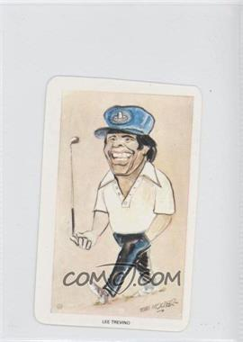 1979 Venorlandus World of Sport Our Heroes Flik-Cards - [Base] #25 - Lee Trevino