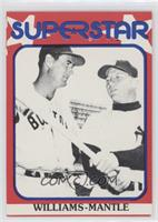 Ted Williams, Mickey Mantle