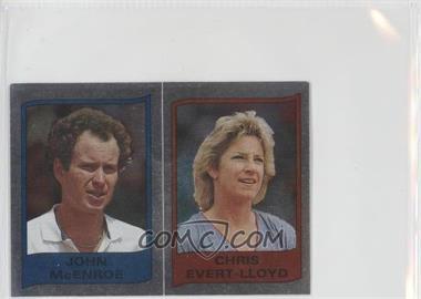 1986 Panini Supersport Stickers - [Base] #112 - John McEnroe, Chris Evert-Lloyd