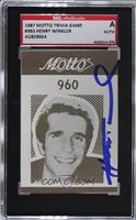 Henry Winkler [SGC Authentic Authentic]