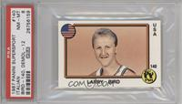 Larry Bird, Stephane Demol [PSA 8]