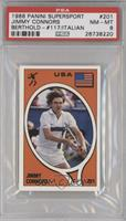 Jimmy Connors, Thomas Berthold [PSA 8]
