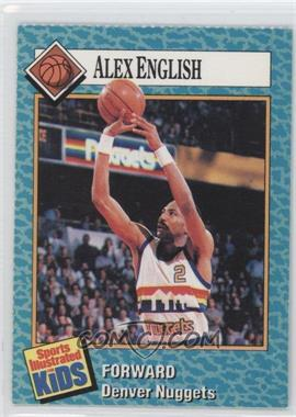 1989-91 Sports Illustrated for Kids - [Base] #34 - Alex English