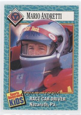1989-91 Sports Illustrated for Kids - [Base] #41 - Mario Andretti