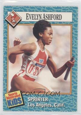 1989-91 Sports Illustrated for Kids - [Base] #51 - Evelyn Ashford