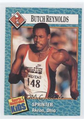 1989-91 Sports Illustrated for Kids - [Base] #61 - Butch Reynolds