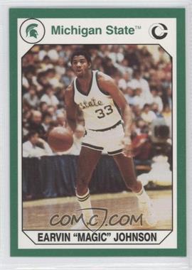 1990 Collegiate Collection Michigan State Spartans - [Base] #182 - Magic Johnson