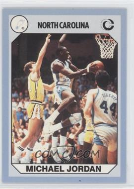 1990 Collegiate Collection North Carolina Tar Heels - [Base] #3.1 - Michael Jordan (Blue Back)