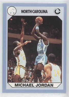1990 Collegiate Collection North Carolina Tar Heels - [Base] #44 - Michael Jordan