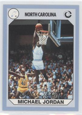 1990 Collegiate Collection North Carolina Tar Heels - [Base] #93 - Michael Jordan