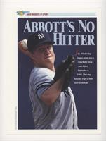 Abbott's No Hitter (Jim Abbott)
