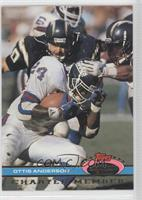Ottis Anderson (Being Tackled by Chargers Players)