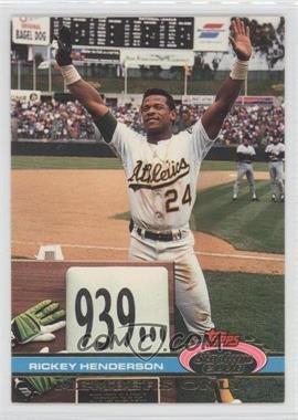 1991 Topps Stadium Club Members Only - [Base] #N/A - Rickey Henderson