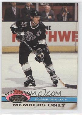1991 Topps Stadium Club Members Only - [Base] #N/A - Wayne Gretzky