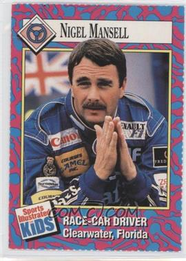 1992-00 Sports Illustrated for Kids - [Base] #114 - Nigel Mansell