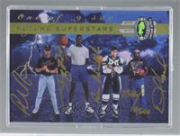 Shaquille O'Neal, Phil Nevin, Roman Hamrlik, Desmond Howard (Autographed) #/9,5…