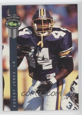1992 Classic Four Sport Draft Pick Collection - [Base] #147 - Robert Jones