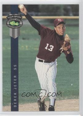 1992 Classic Four Sport Draft Pick Collection - [Base] #231 - Derek Jeter
