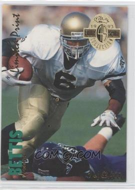 1993 Classic Four Sport Collection - [Base] - Limited Print #LP 13 - Jerome Bettis /63400
