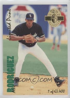 1993 Classic Four Sport Collection - [Base] - Limited Print #LP 18 - Alex Rodriguez /63400