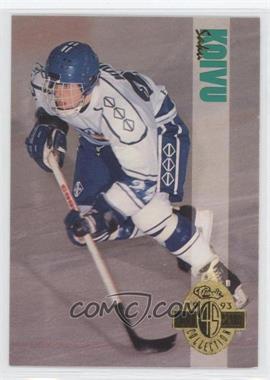 1993 Classic Four Sport Collection - [Base] #202 - Saku Koivu