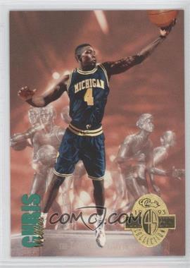 1993 Classic Four Sport Collection - [Base] #311 - Chris Webber