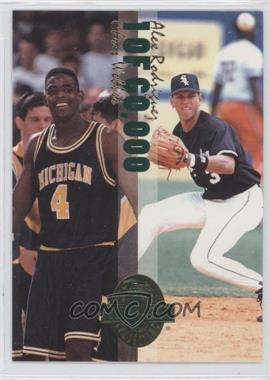 1993 Classic Four Sport Collection - Power Pick Bonus 4-in-1 Special #WRBD - Chris Webber, Alex Rodriguez, Drew Bledsoe, Alexandre Daigle /60000