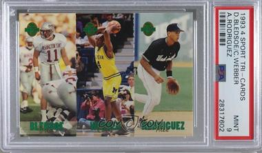 1993 Classic Four Sport Collection Triple Card Tc5 Drew