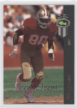 1993 Classic Four Sport Collection McDonald's - [Base] #10 - Jerry Rice