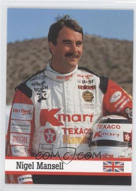 1993 Fax Pax - [Base] #35 - Nigel Mansell